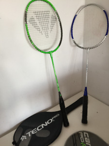Name Brand,Quality Badminton Racquets, Great Price!!!  15$ each