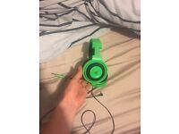Razor kraken gaming headset and Rocat gaming mouse