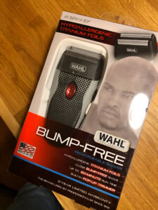 NEW Wahl Bump Free Rechargeable Shaver ($70 Retail)