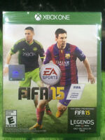 FIFA 15 AND WWE 2K15 FOR XBOX ONE