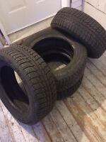 michelin x-ice winters 195/60R15 good condition
