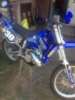 YZ 250 never raced, needs nothing