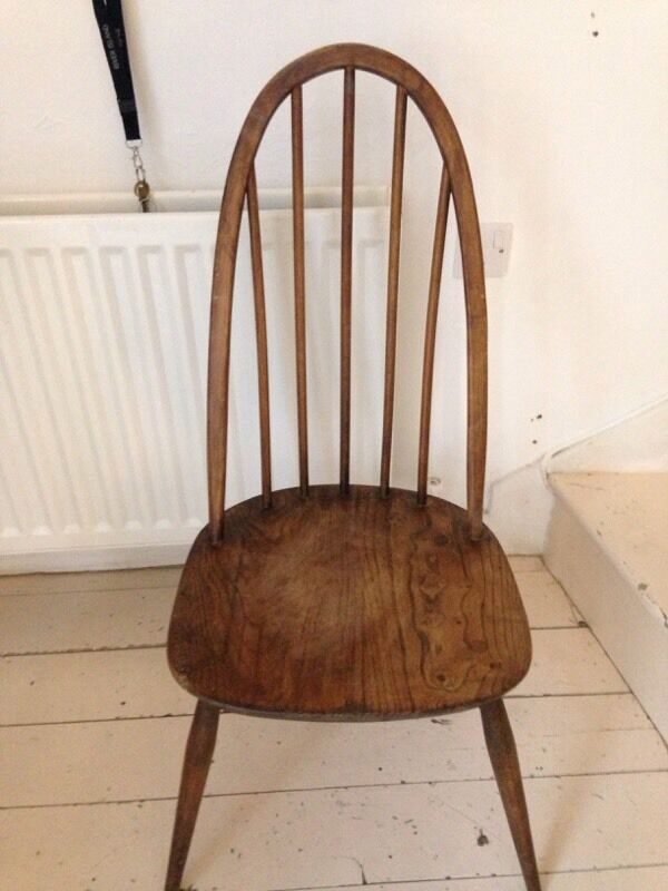 Vintage 1960 Ercol Quaker chair in Hampstead London  : 86 from www.gumtree.com size 600 x 800 jpeg 54kB