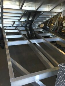 Brand New 6x12 Aluminum Dump Trailer