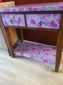 Upcycled console table / sideboard