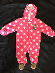 Baby Girl Bunting Suit- Size 6M