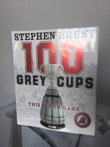 100 Grey Cups CFL -Anniversary Edition Book