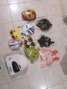 Masks! make an offer of money or trade 4 the lot, need gone asap