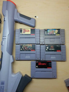 *AMHERST* SNES games sell or trade