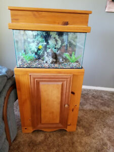 Fish tank WITH furniture