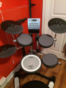 Roland V-Lite Electronic Drum Kit with Amp / Stool