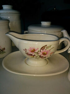 Stoneware - Canisters, gravy boat, teapot & cups etc Kitchener / Waterloo Kitchener Area image 3