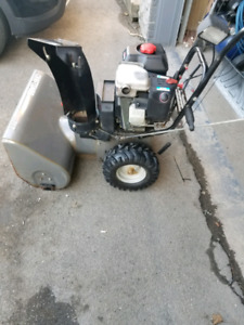 "Craftsman 9hp 24"" snow blower"