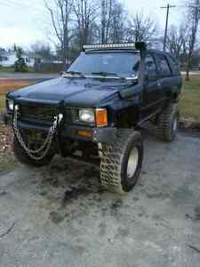 1986 lifted 4runner for sale or trade