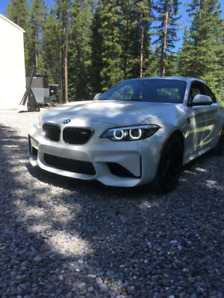 2018 BMW M2 Coupe white