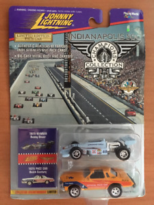 JOHNNY LIGHTNING BOBBY UNSER INDIANAPOLIS 500 & PACE CAR