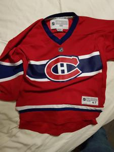 Chandail enfant hockey canadien et autre