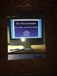 THE NEW JOURNALIST;RULES, SKILLS, AND CRITICAL THINKING FOR SALE
