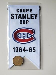 CENTENNIAL STANLEY CUP 1964-65 BANNER MONTREAL CANADIENS HABS Gatineau Ottawa / Gatineau Area image 2