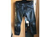 Dianese leather motorbike trousers £20