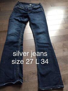 Euc silver jeans Kingston Kingston Area image 2