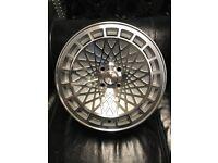 """15"""" alloy wheels alloys rims tyre tyres 4x100 Vw Volkswagen Vauxhall BMW e30"""
