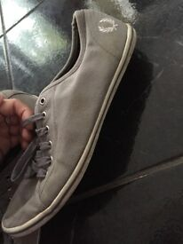 Fred perry grey shoes