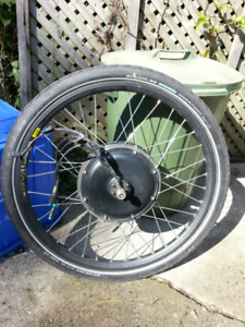 LeafBike / LeafMotor electric bicycle rear hub motor - with mods