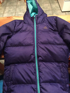 Female Adidas down Jacket