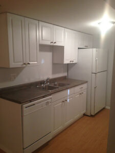 1 Bdrm & Den Basement Suite PLUS Double Attached Garage $1300
