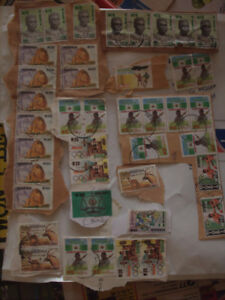 Stamp Collection from Nigeria, Group B