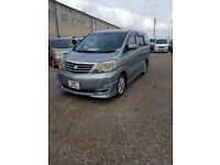 2004 Toyota Alphard Automatic People Carrier / Day Van Twin Sunroofs