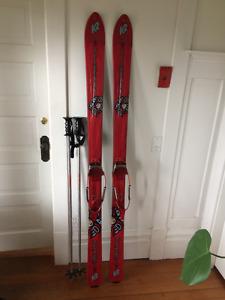 K2 Work Stinx Telemark Skis