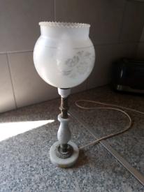 Vintage Italian Marble Lamp