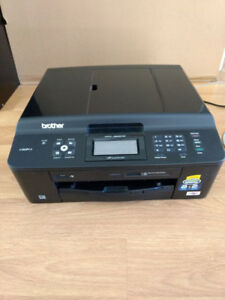 All-in-One Brother MFC-J625DW. and Regular HP printer