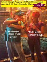 Kidsnight Comedy Playgroup with Magic Jill (Every wednesday)