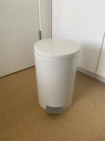 White Brabantia pedal bin