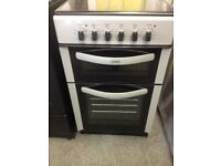 Graded belling free standing cooker