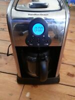 Programmable Hamilton Beach Coffee Maker, With filters