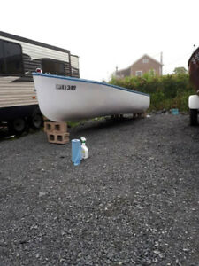 14 Ft. Fiberglass Mossboat
