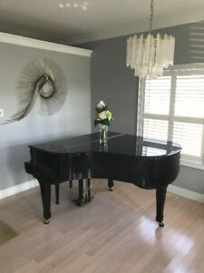 BABY GRAND PIANO WAGNER with a piano BENCH
