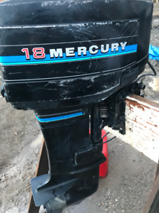 18 hp mecury outboard