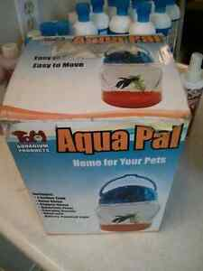 Portable beta fish tank