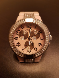 Guess Iconic Pink Dressy Watch