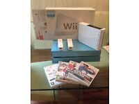Nintendo Wii boxed Bundle with Games