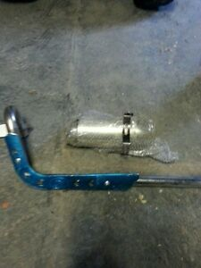 New Full exhaust kit for GIO 306 110cc and header pipe for X31