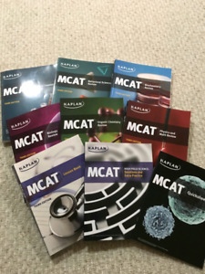 Kaplan MCAT PREP TEXTBOOKS THIRD EDITION BRAND NEW