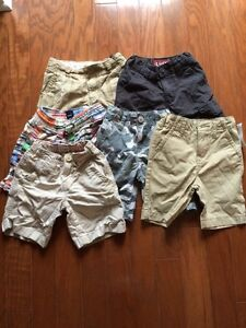 6 pairs of boys shorts - size 4