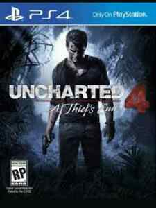 Uncharted 4 : A Thief's End PS4 comme neuf