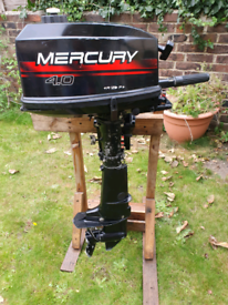 Mercury 4hp 2stroke short shaft